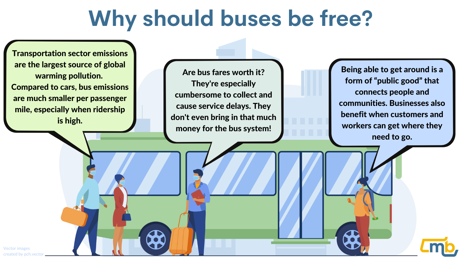 Why should buses be free?
